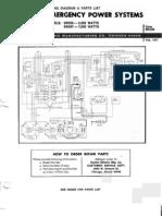 Winco Dayton 3w056 3w057 Parts List 7 Kw