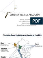 Cluster Textil Algodon