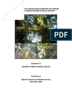 Assessment of Orchids and Estimation of Current Stock of Traded Orchids in Rolpa District, Nepal
