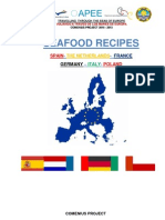 Seafood Recipes All Countries Comenius 2012