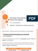001 - Physique des polymères