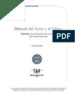 4 Version 2009 Manual Autores Editores