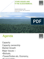 Current & Future Issues for Oleo Chemical Industry
