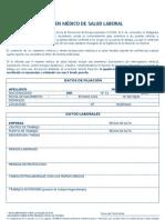 Certificado Medico Laboral
