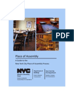 NYC Place of Assembly_guide
