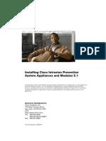 Installing Cisco Intrusion Prevention