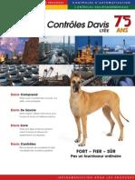 Les Contrôles Davis Ltée, liste de produits