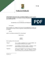 Regeling Maximumprijzen Geneesmiddelen Juli 2012