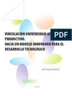 Vinculacion Universidad Sector Productivo