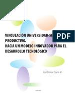 Vinculacion Universidad Sector Productivo