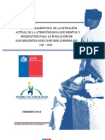 Informe Final Salud Mental SENAME 2012