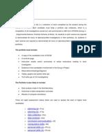 Chemistry Internal Assessment