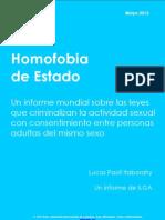 ILGA- Homofobia de Estado 2012