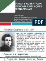 Gramsci e Robert Cox Hegemonia e Relacoes Internacionais