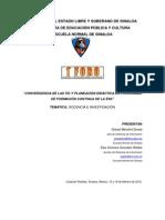 ConvergenciaDeLasTICy LaPlaneacionDidacticaEnProgramasDeFormacionContinuaDeLaENS