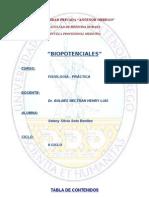 Biopotenciales- seminario