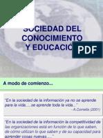 Sociedad del conocimiento y educación v final