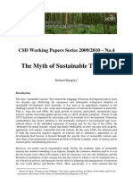 CSD Working Paper 4 Sustainable Tourism Sharpley