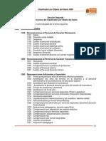 Estructura Clasificador Bjeto Del Gasto
