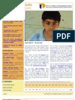 Defence for Children International-Palestine's Bulletin on Violations - Issue 19 - April  2012