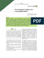 Transplante de Tejidos, Jorge Suárez