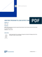 7250531 Abap Bdc Program to Load Output Conditions