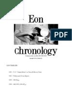 Eon Chronology