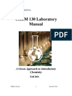 CHEM 130 Lab Manual Fall 2011
