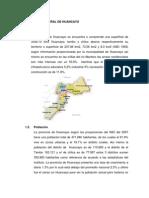 POBLACIÓN NATURAL DE HUANCAYO