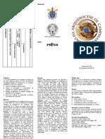 Inscrições - Coro da Arquidiocese de Campinas
