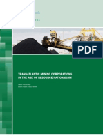 Transatlantic Mining Corporations in the Age of Resource Nationalism