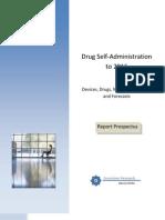 Drug Self-Administration Report Prospectus