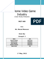 The Home Video Game Industry(Case10)
