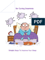 Tips for Curing Insomnia