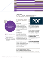 SWIFT Pour Votre Entreprise Factsheet