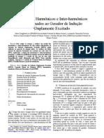 Estudo dos Harmônicos e Inter-harmônicos - Gerador indução double fed