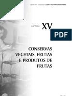 Cap15 Conservas Vegetais, Frutas e Produtos de Frutas