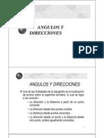 Clase No 4 - Angulos y Direcciones