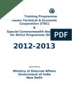 Cursos ITEC 2012-13