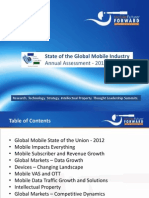 Annual State of Global Mobile Industry 2012 Chetan Sharma Consulting 2