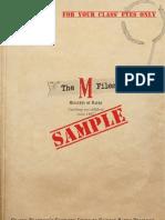 TheMFiles Sample