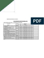 Plan Operativo Institucional 2012