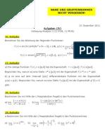 Analysis Aufgaben 4_1112