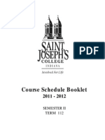 St Josephs Collge 2011-2012_Spring_Booklet
