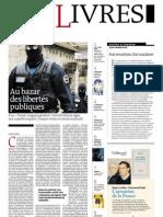 Supplément Le Monde des livres 2012.03.02
