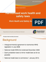 Whs Implementation National Whs Laws