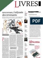 Supplément Le Monde des livres 2012.05.11