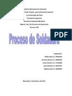 Informe Practica de Soldadura