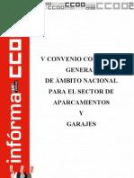 V Convenio Nacional Aparcamientos y Garajes