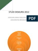 Format Acara Kegiatan STUDI EKSKURSI 2012